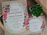 Cheapest Place to Get Wedding Invitations Cheap Vintage Rustic Roses Wedding Invitations Ewi397 as