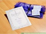 Cheapest Way to Do Wedding Invites 3 Ways to Make Cheap Homemade Wedding Invitations Wikihow