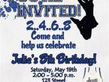 Cheerleading Birthday Party Invitations Cheerleading Birthday Party Invitation