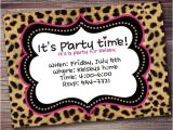 Cheetah Party Invitations Bachelorette Party Invitations Your Party Starts Here