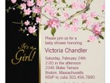 "Cherry Blossom Baby Shower Invitations Pink Cherry Blossom Baby Shower Invitations 5 25"" Square"