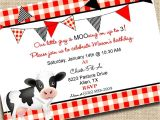 Chick Fil A Birthday Party Invitations Chick Fil A Invitation Printable Party Invitation