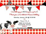 Chick Fil A Birthday Party Invitations Cow Birthday Invitations Best Party Ideas
