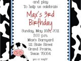 Chick Fil A Birthday Party Invitations Cow Farm Birthday Party Invitation Custom Diy Birthday