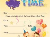 Childrens Party Invitation Template 19 Kids Party Invitation Designs Templates Psd Ai