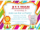 Childrens Party Invitation Template Art Birthday Party Invitations for Your Kids Bagvania