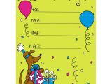 Childrens Party Invitation Template Birthday Invitation Card for Child In 2019 Kids Birthday
