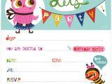 Childrens Party Invitation Template Birthday Invitations Childrens Birthday Party Invites