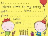 Childrens Party Invitation Template Free Birthday Party Invites for Kids Free Printable