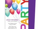 Childrens Party Invitation Template Happy Birthday Invitation Templates My Birthday