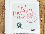 Chocolate Party Invitations Free Hot Chocolate Party Printables A Pair Of Pears