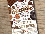 Chocolate Party Invitations Free Printable Chocolate Party Invitation Chocolate Desserts