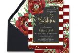 Christmas Baptism Invitations Christmas Baptism Invitation Holiday Christening