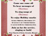Christmas Caroling Party Invitations Christmas Carol Hymn Sing A Long Dec 15 First Church Of