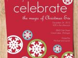 Christmas Eve Party Invitations Celebrate Christmas Eve Digital Holiday Party Invitation