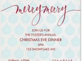Christmas Eve Party Invitations Melancholy Smile Christmas Eve Invitations