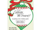 Christmas House Party Invitation Wording ornament Exchange Christmas Party Invitations