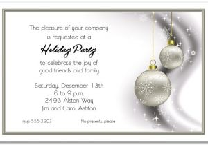 Christmas Invitation Wording for A Company Party Corporate Holiday Party Invitations theruntime Com