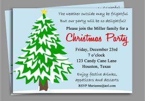 Christmas Invitation Wording for A Company Party Funny Christmas Party Invitation Wording Ideas Cimvitation