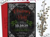 Christmas Party formal Invitation Template 27 formal Invitation Templates