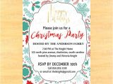 Christmas Party Invitation Email Templates Free 30 Christmas Invitation Templates Free Sample Example