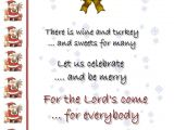 Christmas Party Invitation Rhymes Christmas Invitation Template and Wording Ideas