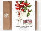 Christmas Party Invitation Template Editable Christmas Printable Invites Editable Christmas Party by