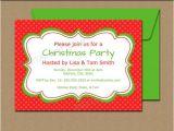Christmas Party Invitation Template Editable Editable Christmas Invitation Holiday Invitation
