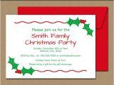 Christmas Party Invitation Template Editable Editable Christmas Party Invitation Christmas by