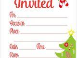 Christmas Party Invitation Template Online Amazon Com Snowflake Classic Christmas Invitations Fill