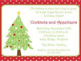 Christmas Party Invitation Template Printable Christmas Tree Invitation by Noteworthyprintables