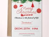 Christmas Party Invitation Template Publisher 36 Christmas Party Invitation Templates Psd Ai Word
