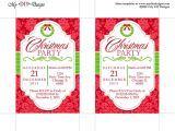 Christmas Party Invitation Template Publisher Christmas Invitation Template