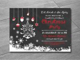 Christmas Party Invite Template Uk Christmas Invitation Template Holiday Party Invitation Etsy