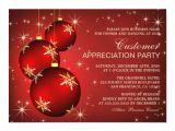 Christmas Party Invite Template Uk Holiday Customer Appreciation Invitation Templates