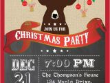 Christmas Party Invite Template Uk Printable Vintage Christmas Party by thepaperwingcreation
