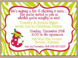 Christmas Poems for Invitation to A Party Christmas Dinner Party Invitations Oxsvitation Com