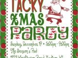 Christmas Poems for Invitation to A Party Tacky Christmas Party Invitation Poem Idea Grab All Your