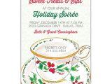 Christmas Tea Party Invitations Free Berry Merry Holiday Tea Invitations