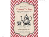 Christmas Tea Party Invitations Free Items Similar to Printable Christmas Tea Party Invitation