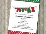 Christmas themed Baby Shower Invitations Christmas Baby Shower Ideas Tinytotties Baby