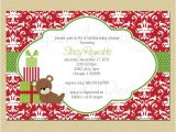 Christmas themed Baby Shower Invitations Unavailable Listing On Etsy