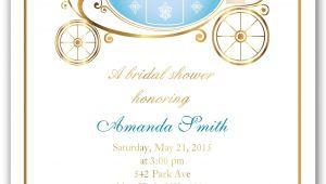 Cinderella Bridal Shower Invitations Bridal Shower Invitations Bridal Shower Invitations