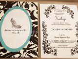 Cinderella themed Bridal Shower Invitations Mom Mart Diy Cinderella theme Wedding Shower Invitations