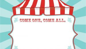 Circus Birthday Invitation Template Free Free Printable Circus Birthday Invitations Template Free