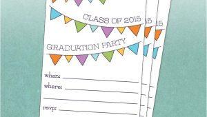Class Party Invitation Template Class Of 2015 Graduation Party Invitation Free