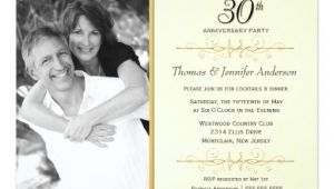 Classy 30th Birthday Invitation Wording Elegant 30th Wedding Anniversary Party Invitations