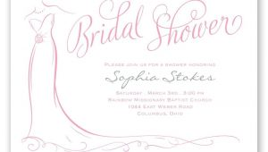 Classy Bridal Shower Invitations Elegant Bride Bridal Shower Invitation