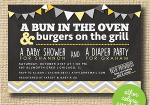 Co-ed Baby Shower Invite Chandeliers & Pendant Lights