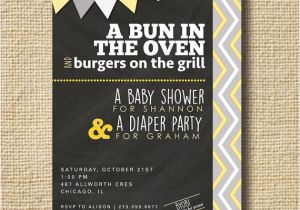 Co-ed Baby Shower Invite Couples Baby Shower Invitation Co Ed Baby Shower by